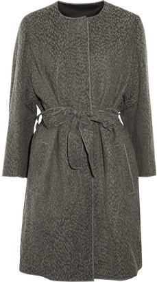 D&G Wool and cotton-blend coat