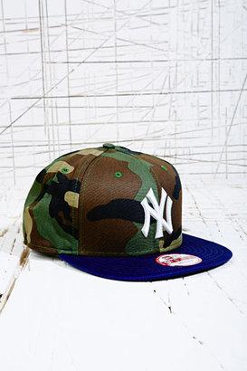 New Era New York 9Fifty Snapback Cap in Camo