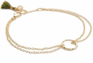 Shashi Circle Bracelet $36 thestylecure.com
