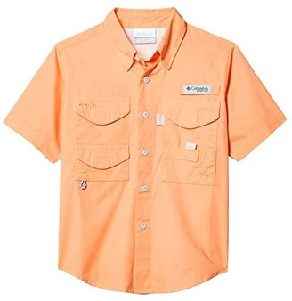 Columbia Kids Boneheadtm S/S Shirt (Little Kids/Big Kids) (Cool Grey) Boy's Short Sleeve Button Up