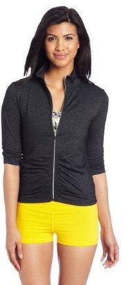 Calvin Klein Women's Ruched Sleeve Jacket