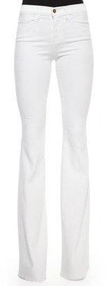 FRAME Forever Karlie Flared Denim Jeans $219 thestylecure.com