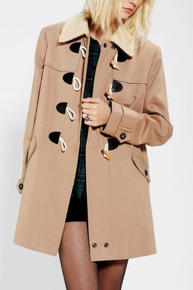 Urban Outfitters Pins And Needles Toggle Coat