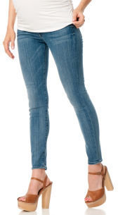 A Pea in the Pod 7 For All Mankind Secret Fit Belly® Signature Pocket Skinny Leg Maternity Jeans