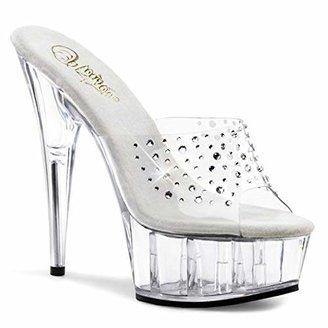 Pleaser USA Women's Delight-601 RS Platform Sandal
