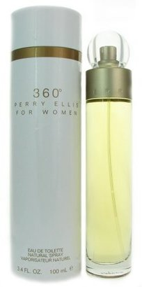 Perry Ellis 360 for Women Eau De Toilette Spray, 3.4 Ounce $28.20 thestylecure.com