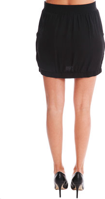 A.L.C. Silk Skirt in Black