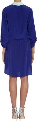 Mason by Michelle Mason Contrast Collar Dress