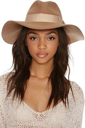 Nasty Gal Jasmine Floppy Hat - Camel