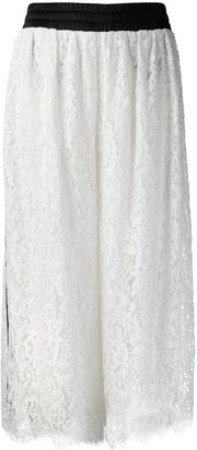 ADAM by Adam Lippes lace wide leg trousers