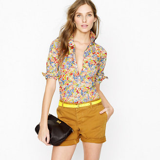 J.Crew Liberty perfect shirt in Margaret Annie
