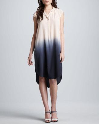 Rebecca Taylor Ombre Silk Shift Dress (Stylist Pick!)