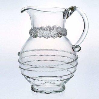 "Juliska ""Amalia"" Round Glass Pitcher"