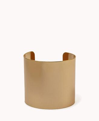 Forever 21 Minimalist Plated Wrist Cuff