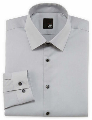 Jf J.Ferrar JF Easy-Care Solid Dress Shirt-Big & Tall