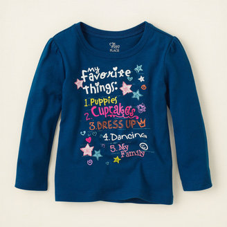 Children's Place Favorite things graphic tee