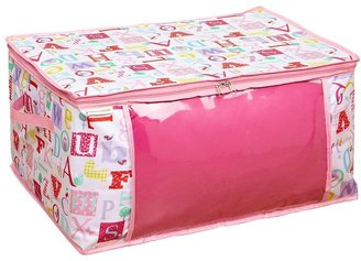 Laura Ashley Owl Alphabet Blanket Storage Bag