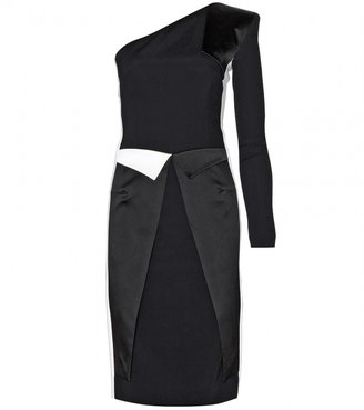Roland Mouret Bivalves two-tone dress