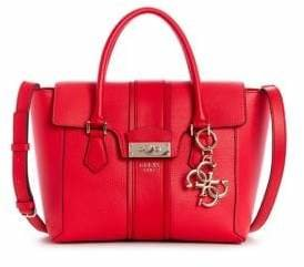 GUESS L.A. Hip Flap Satchel