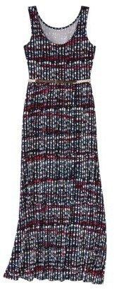 Merona Women's Maxi Dress w/Belt - Prints