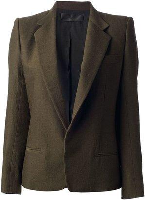 Haider Ackermann cropped sleeve jacket