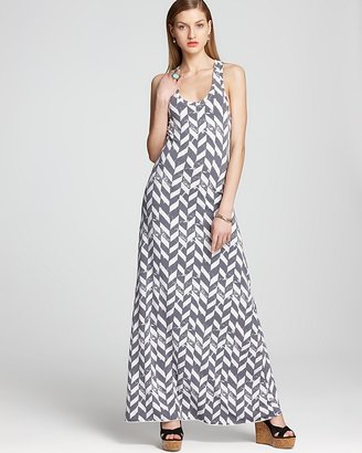 Alternative Apparel ALTERNATIVE Maxi Dress - Croquet Printed