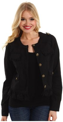 rsvp Jillien Twill Jacket (Black) - Apparel