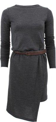 Brunello Cucinelli Jersey Dress with Belt