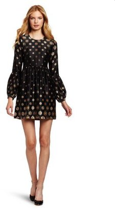 Twelfth St. By Cynthia Vincent by Cynthia Vincent Women's Bell Sleeve Baby Doll Mini Dress