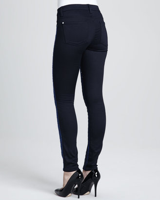 7 For All Mankind Malhia Kent The Skinny Jeans, Blue
