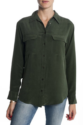 Equipment Signature Button Down Army