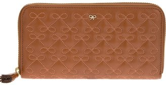 Anya Hindmarch embroidered purse