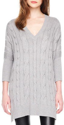 MICHAEL Michael Kors Loose Cable-Knit Sweater
