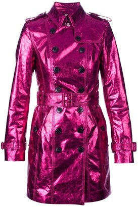 Burberry metallic trench