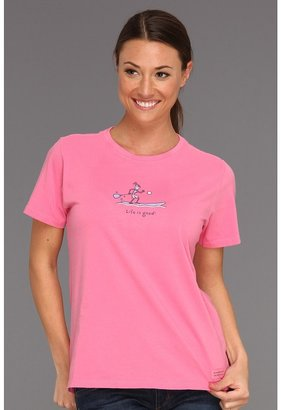 Life is Good Jackie Paddle Board Crusher Tee Women's T Shirt