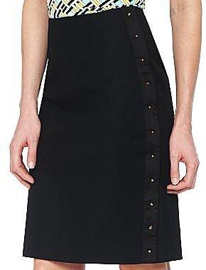 JCPenney Worthington® Stud Detail Pencil Skirt