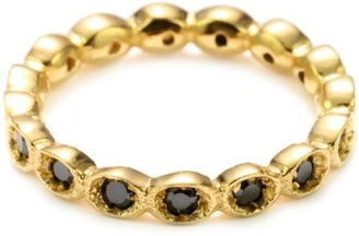 "Melinda Maria Pod Collection"" Black Onyx Teeny Pod Ring"