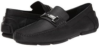 Calvin Klein Magnus (Black Weave Emboss) Men's Shoes