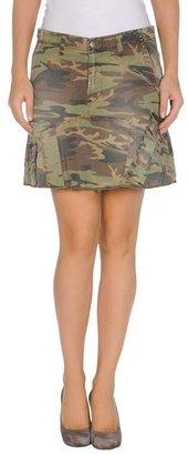 (+) People Knee length skirt