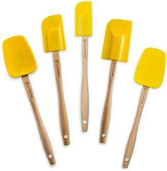 Le Creuset Silicone Spatula Spoons in Soleil