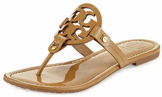Tory Burch Miller Patent Logo Sandal $195 thestylecure.com