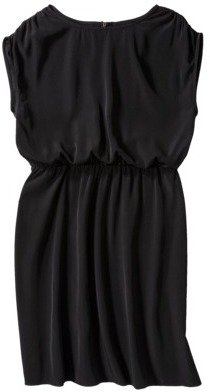 Mossimo Women's Short Sleeve E-waist Dress - Assorted Colors