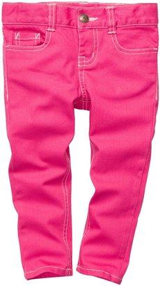 Osh Kosh Stretch Twill Pant - Pink - 3 Months