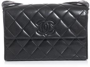 Chanel Quilted leather shoulder bag
