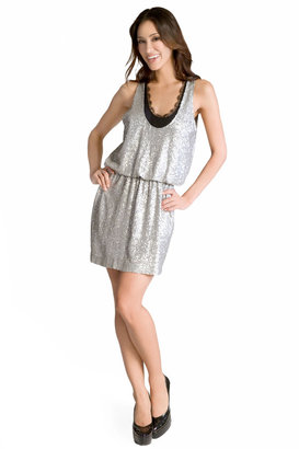 Robert Rodriguez Collection Sparkling Lace Dress