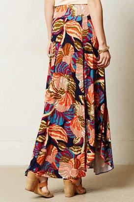 Anthropologie Tigridia Maxi Skirt