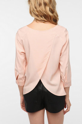 Urban Outfitters Pins and Needles Tulip Back Blouse