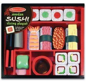 Melissa & Doug Kids Toys, Sushi Slicing Playset