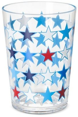 Plastic Tumblers 16oz Blue Stars - Set of 6