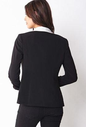 Forever 21 Contemporary Menswear-Inspired Tuxedo Blazer